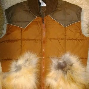SOLD Vintage vest